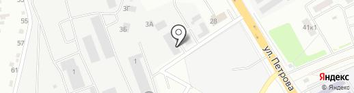 Страховая компания на карте Верхней Пышмы