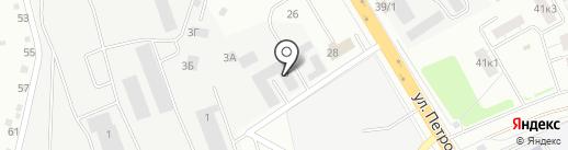 Вольтаж Екатеринбург на карте Верхней Пышмы
