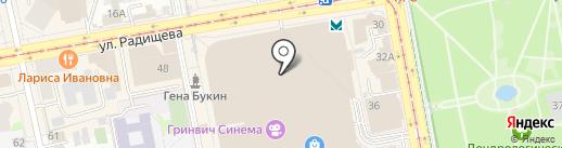 UGG на карте Екатеринбурга