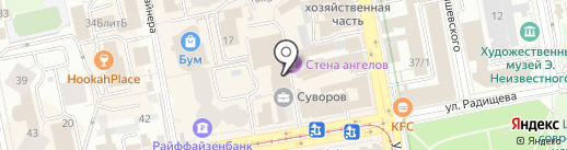 Bright Dance на карте Екатеринбурга