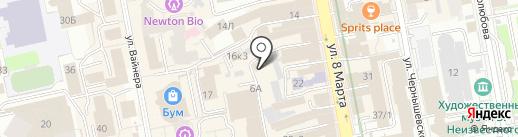 Фастстрой на карте Екатеринбурга