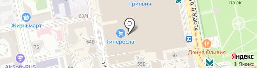 MY DUBAI на карте Екатеринбурга