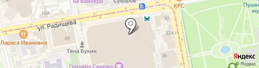 Раскраски66.ру на карте Екатеринбурга