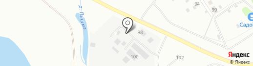 Мегаполис на карте Верхней Пышмы