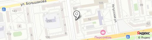 АВАНТИ СОФТ на карте Екатеринбурга