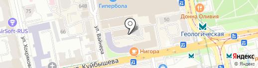 Sofia на карте Екатеринбурга