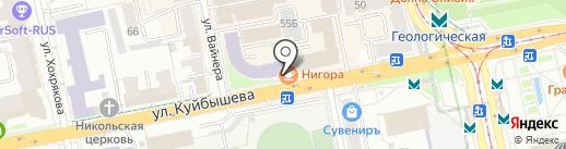Банкомат, БИНБАНК, ПАО на карте Екатеринбурга