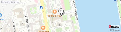 Салют66 на карте Екатеринбурга