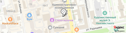 Бодрое утро на карте Екатеринбурга