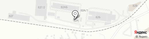 Топлифт на карте Екатеринбурга