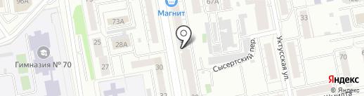 VNL STORE на карте Екатеринбурга
