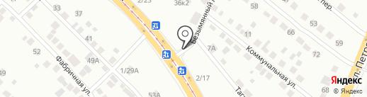 УралПирог на карте Верхней Пышмы