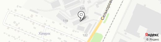 АВАЛДА на карте Екатеринбурга