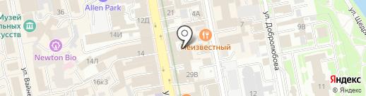 Cosmo Service на карте Екатеринбурга