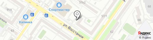 ЗдравСити на карте Екатеринбурга