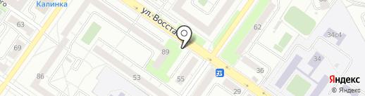 Магазин цветов на карте Екатеринбурга