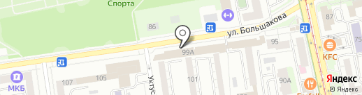 Confettis на карте Екатеринбурга