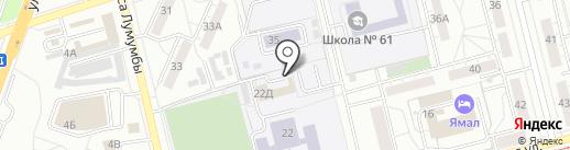 Участковый пункт полиции на карте Екатеринбурга