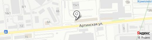 Талион на карте Екатеринбурга