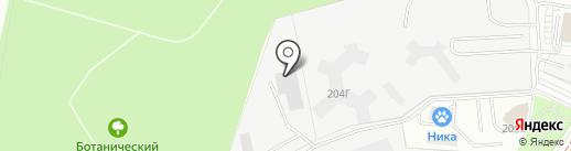 Бизнес Строй Групп на карте Екатеринбурга