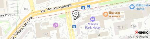Сто Лото на карте Екатеринбурга