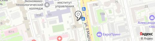 Toy-Boom на карте Екатеринбурга
