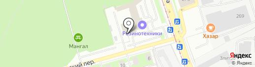 Спецтрансклимат на карте Екатеринбурга