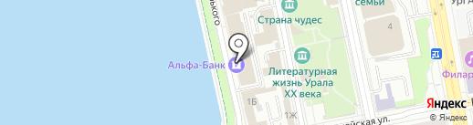 Камень Фасад на карте Екатеринбурга