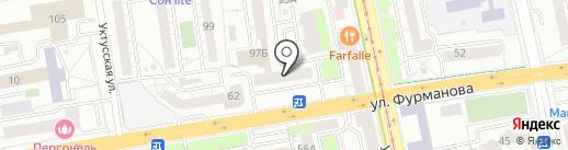 TopService66 на карте Екатеринбурга
