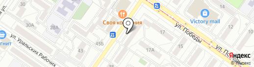 Детский шик на карте Екатеринбурга
