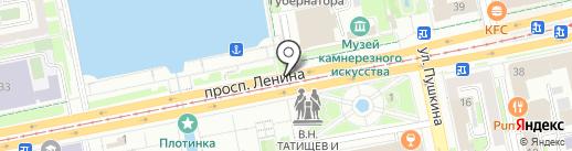 Элит-ГРУПП на карте Екатеринбурга
