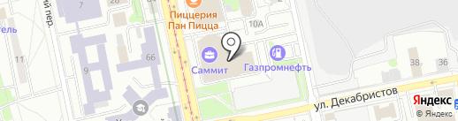 Аналитика Онлайн на карте Екатеринбурга