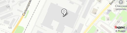 Модульные здания на карте Екатеринбурга