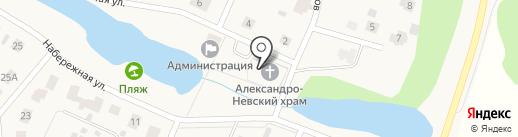 Храм во имя святого благоверного князя Александра Невского на карте Балтыма