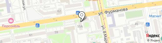 BOHEMIA family на карте Екатеринбурга