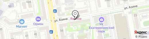 Сбыт-Премиум на карте Екатеринбурга