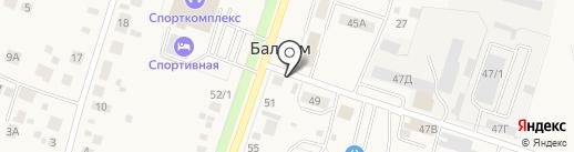Термок на карте Балтыма
