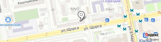 Любимая кухня на карте Екатеринбурга