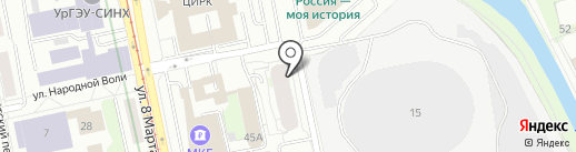 АРТЕК на карте Екатеринбурга