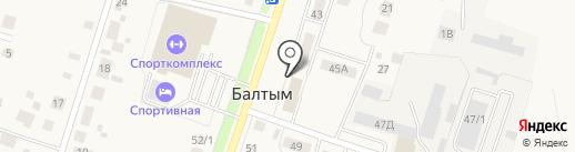Почтовое отделение на карте Балтыма