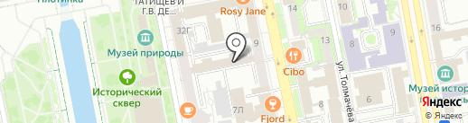 Проводка-Екб на карте Екатеринбурга