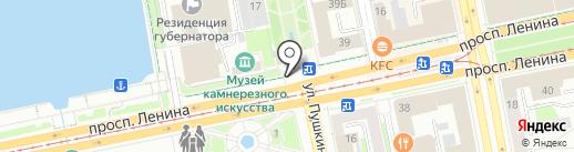 Цветы от Аллы на карте Екатеринбурга