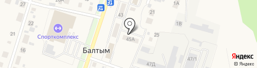 Кругшин на карте Балтыма