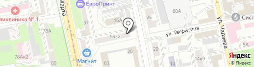 РосТрейд на карте Екатеринбурга