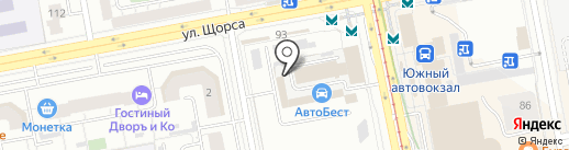 Администратор на карте Екатеринбурга