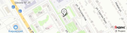 Верхнепышминское почтовое отделение №2 на карте Верхней Пышмы