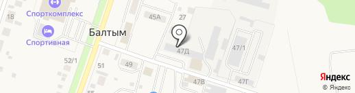 POSPELOV caprice style на карте Балтыма