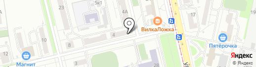 Пивная №8 на карте Екатеринбурга