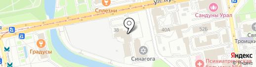 Heart of Home на карте Екатеринбурга