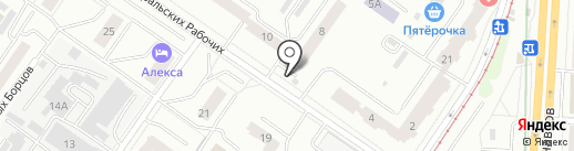 Михайловское молоко на карте Екатеринбурга